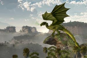 Green Dragon by deskridge