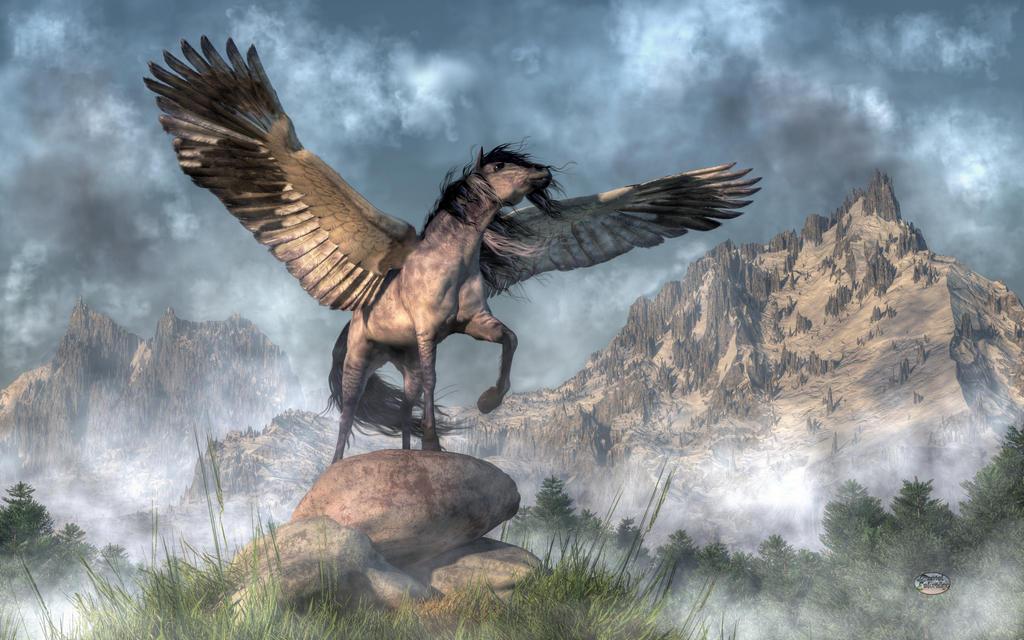 Pegasus by deskridge