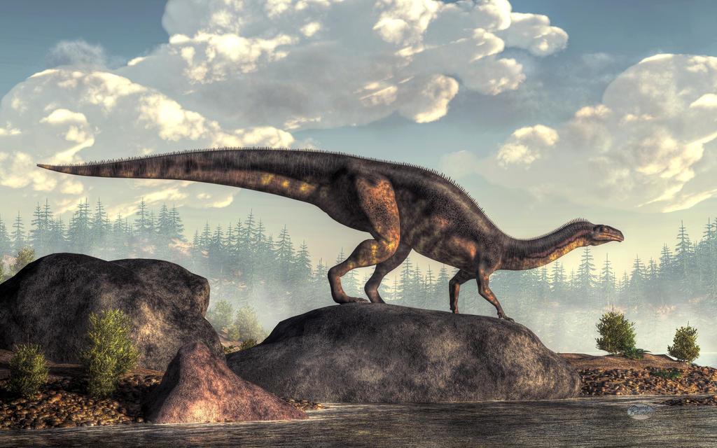 Plateosaurus by deskridge