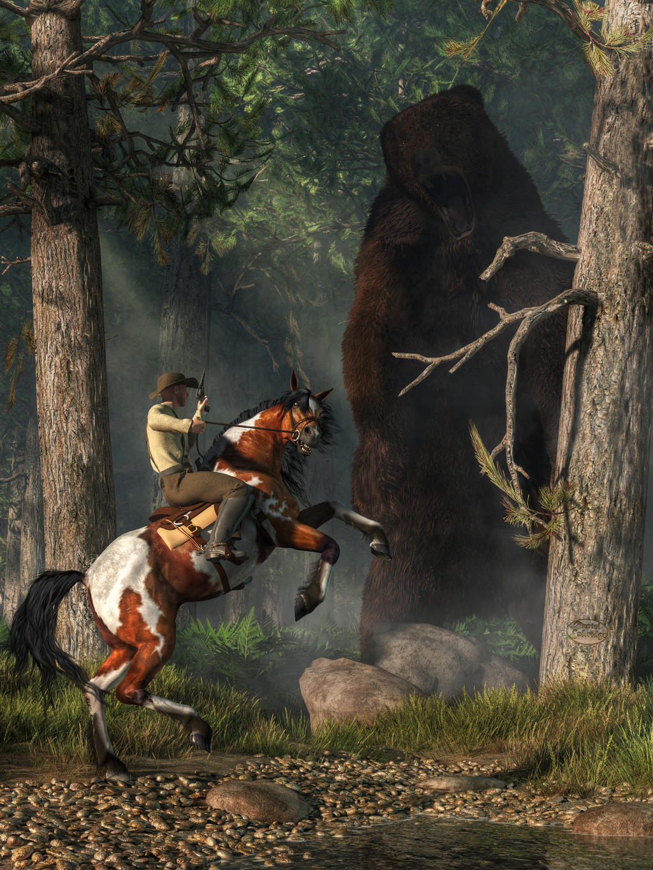 The Monster Bear by deskridge