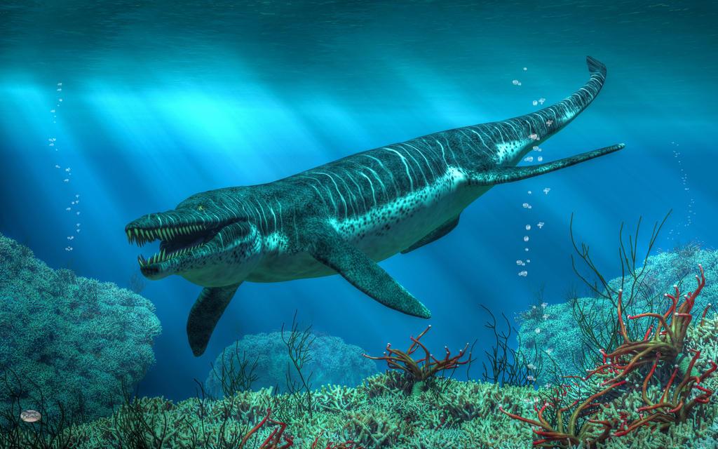 Kronosaurus By Deskridge On Deviantart