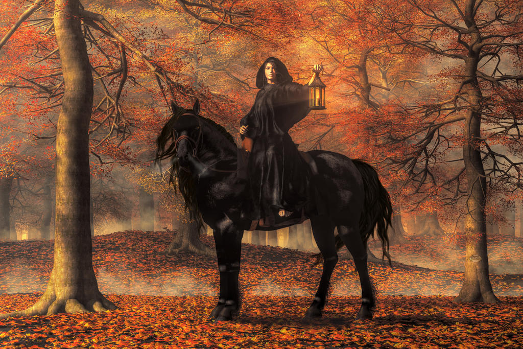 The Lady of Halloween by deskridge