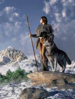 Huntress and Wolf