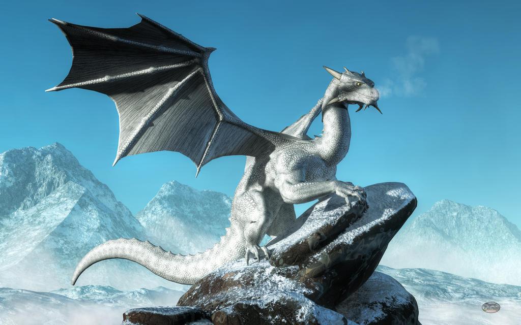 Winter Dragon by deskridge