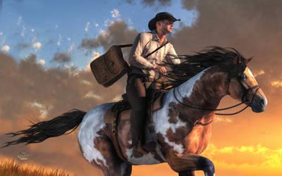 Pony Express by deskridge