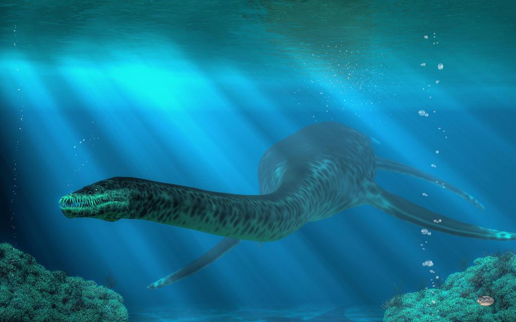 Styxosaurus by deskridge