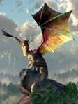 Gold Winged Dragon