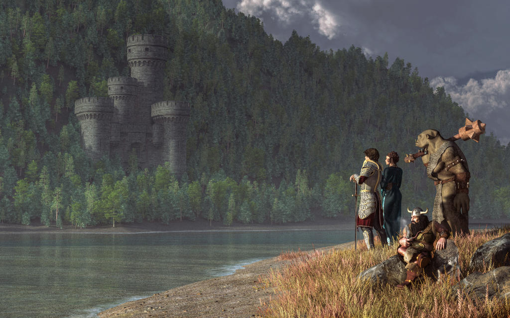 Fantasy Quest by deskridge