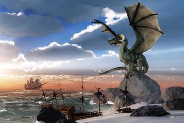 Scourge of the Seas by deskridge