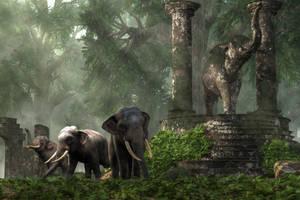 Elephant Kingdom by deskridge