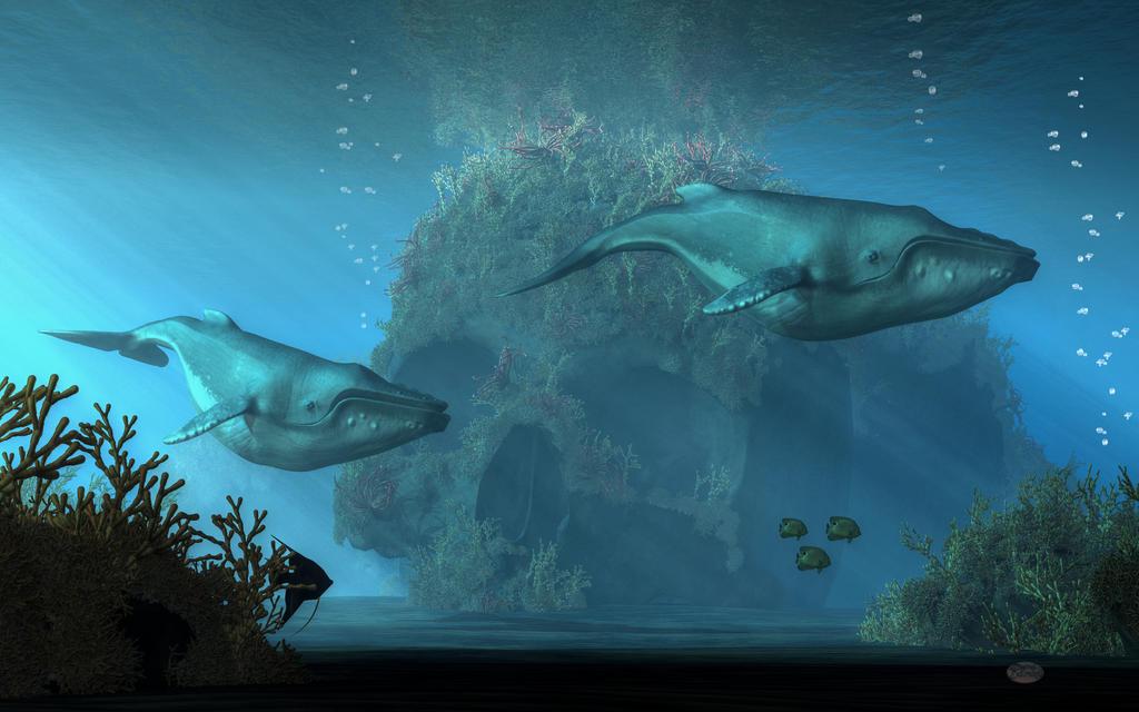 Poseidon's Grave by deskridge
