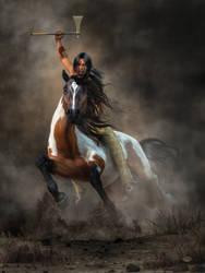 Warrior by deskridge