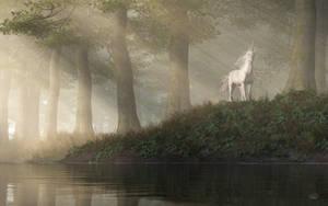 Unicorn Sighting by deskridge