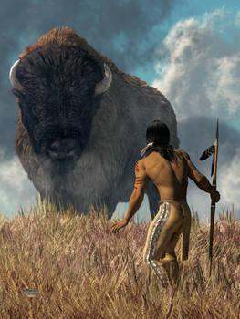 The Hunter and the Buffalo