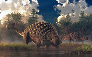 Ankylosaurs by deskridge