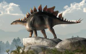 Stegosaurus by deskridge
