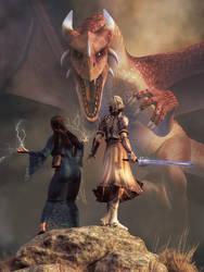 Sword and Sorcery by deskridge