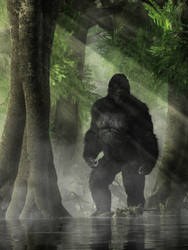 The Skunk Ape by deskridge