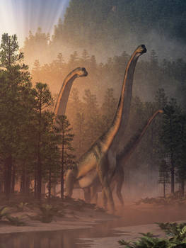 Brachiosaurus Valley