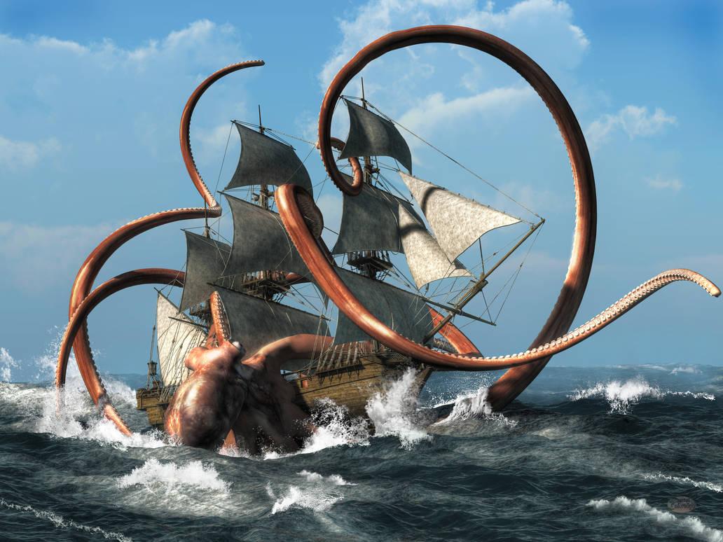 The Kraken by deskridge