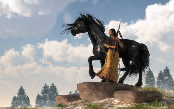 Woman Warrior and War Horse
