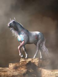 The White War Horse by deskridge