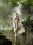 The Lady of the Lake by deskridge