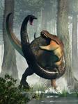 T-Rex vs Titanoboa