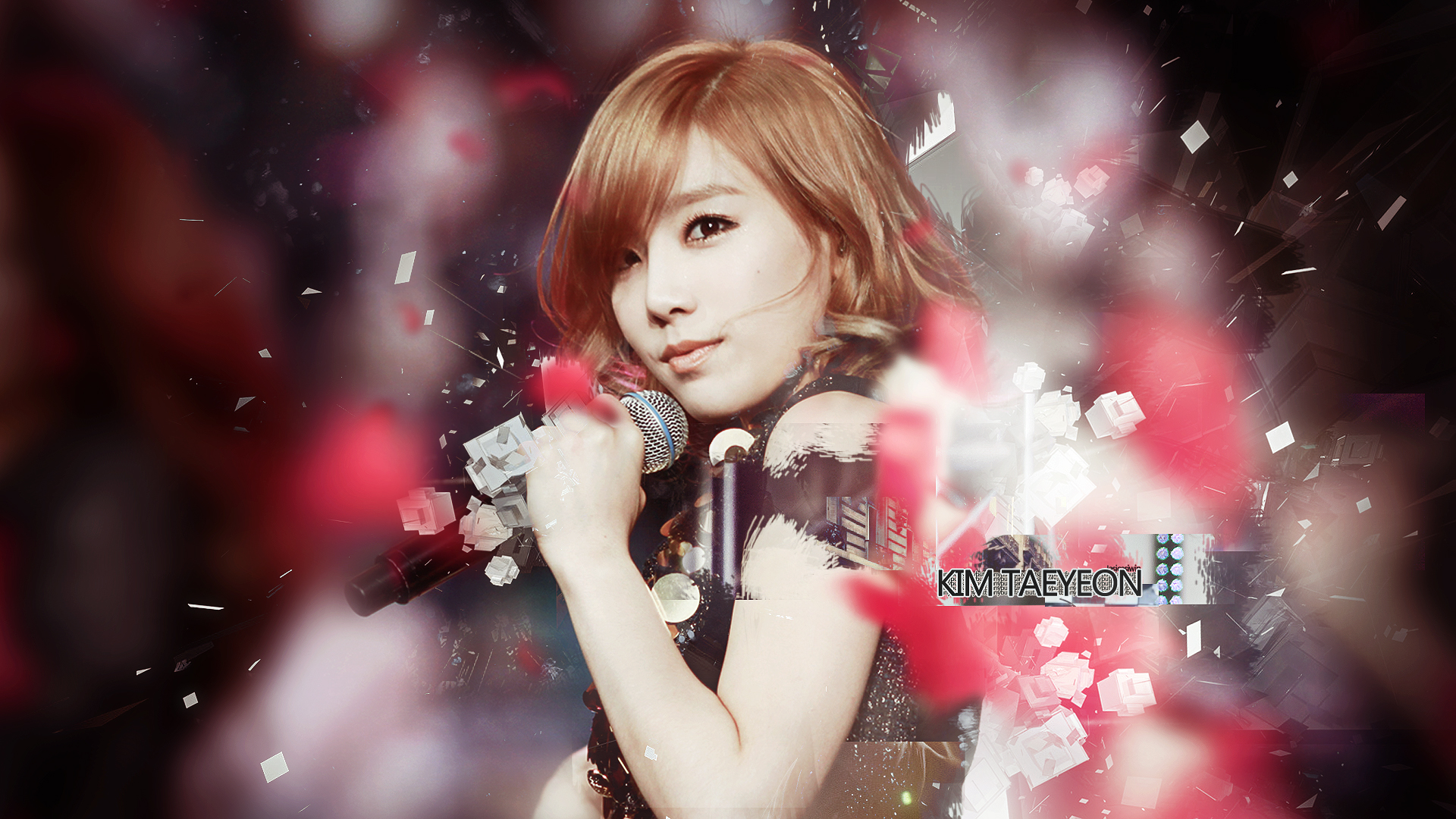 SNSD The Boys Kim Taeyeon by UberzErO on DeviantArt Taeyeon The Boys