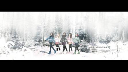 Winter SNSD by UberzErO