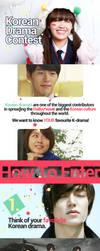 SFU K.STORM Summer 2013 Korean Drama Contest by UberzErO