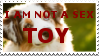 Stamp: Dogs Are Not Sex Toys