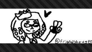 Pearl drawn on my Switch