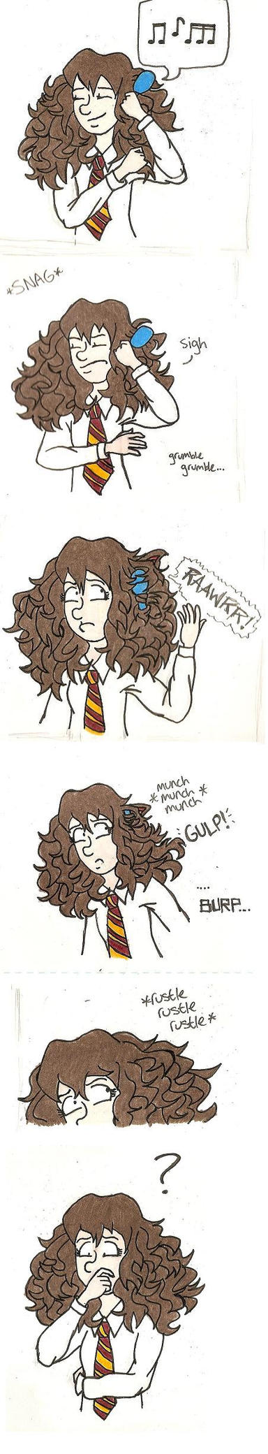 Hermione's Hair Problem by quintessence424