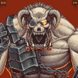 Doom Eternal's Gladiator