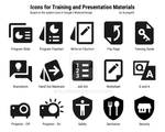 Icons for Training Materials and Presentations