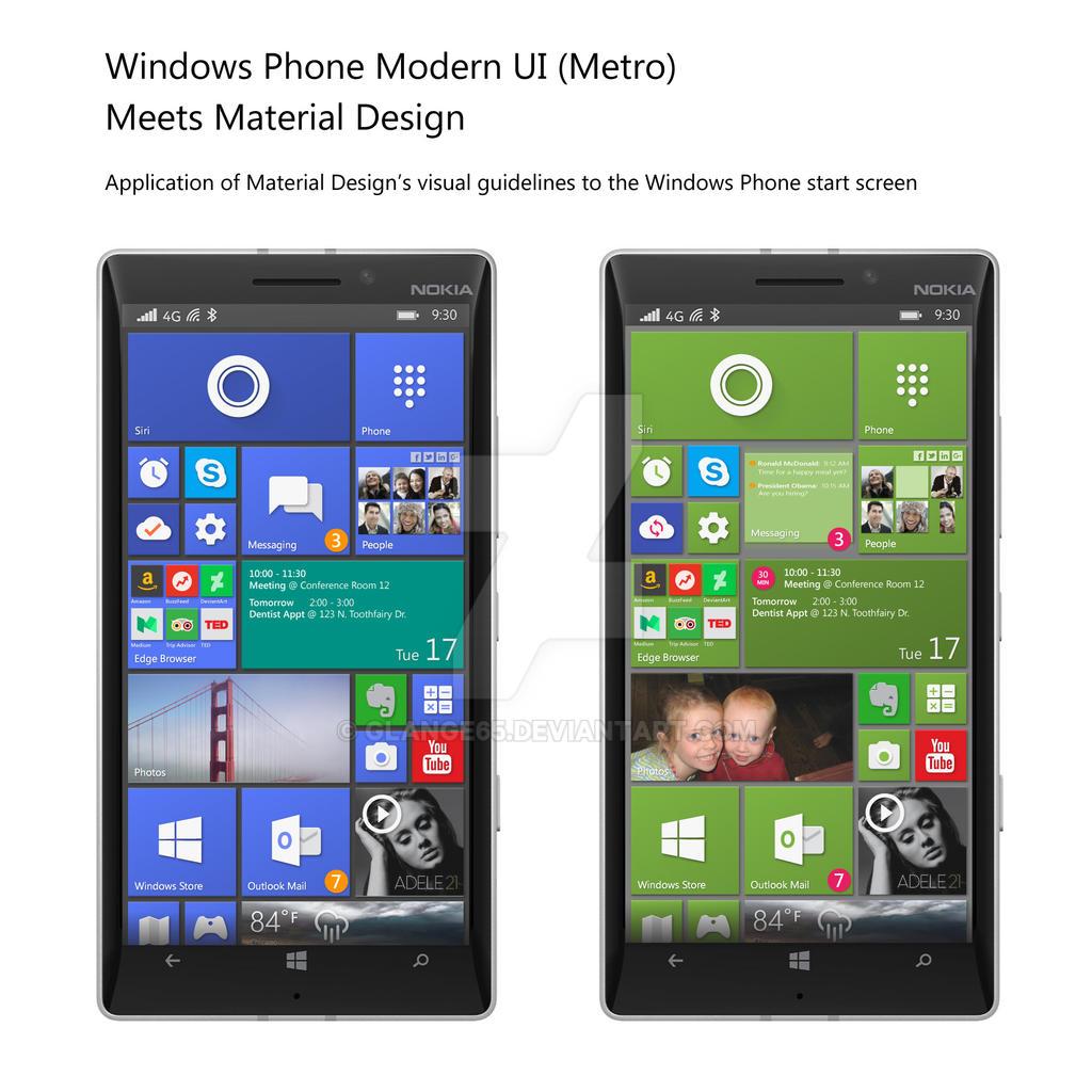 Material Design meets Windows Phone