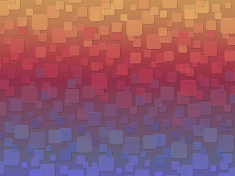 Retro Squares Wallpaper
