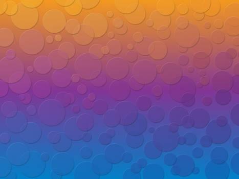 Retro Circles Wallpaper