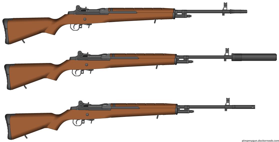 TSC M1 Garand Olympus Model Series by MisterArtMaster101 ... M14 Bullpup