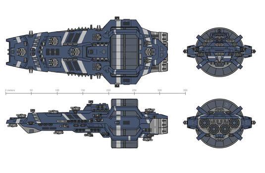 Stiletto class Destroyer