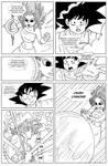 Dragon Ball GTH (a Goku x Caulifla story): CH3 PG8