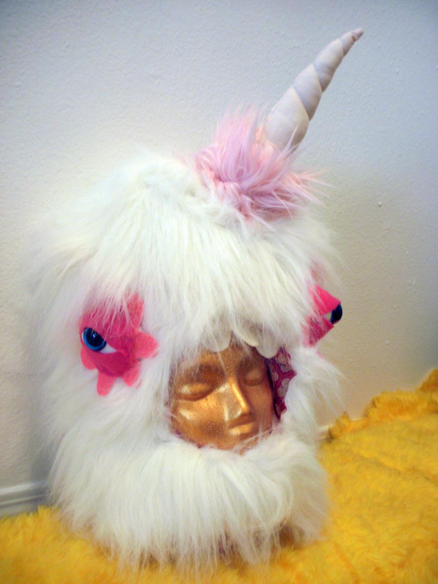 Unicorn Mask by lumpybits