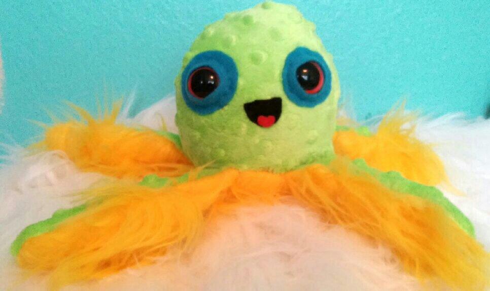 Harold the Octo by lumpybits