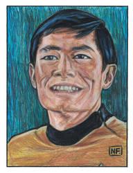 George Takei is Sulu