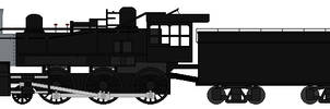 SP Fire Train Locomotive (Blank)
