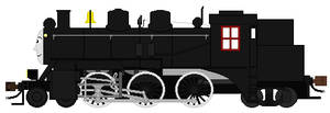 Canadian National Commuter Tank Engine (Blank)