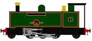 Vale Of Rheidol Locomotive Sprite