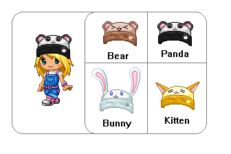 Fantage Custom Hats by Lineesa