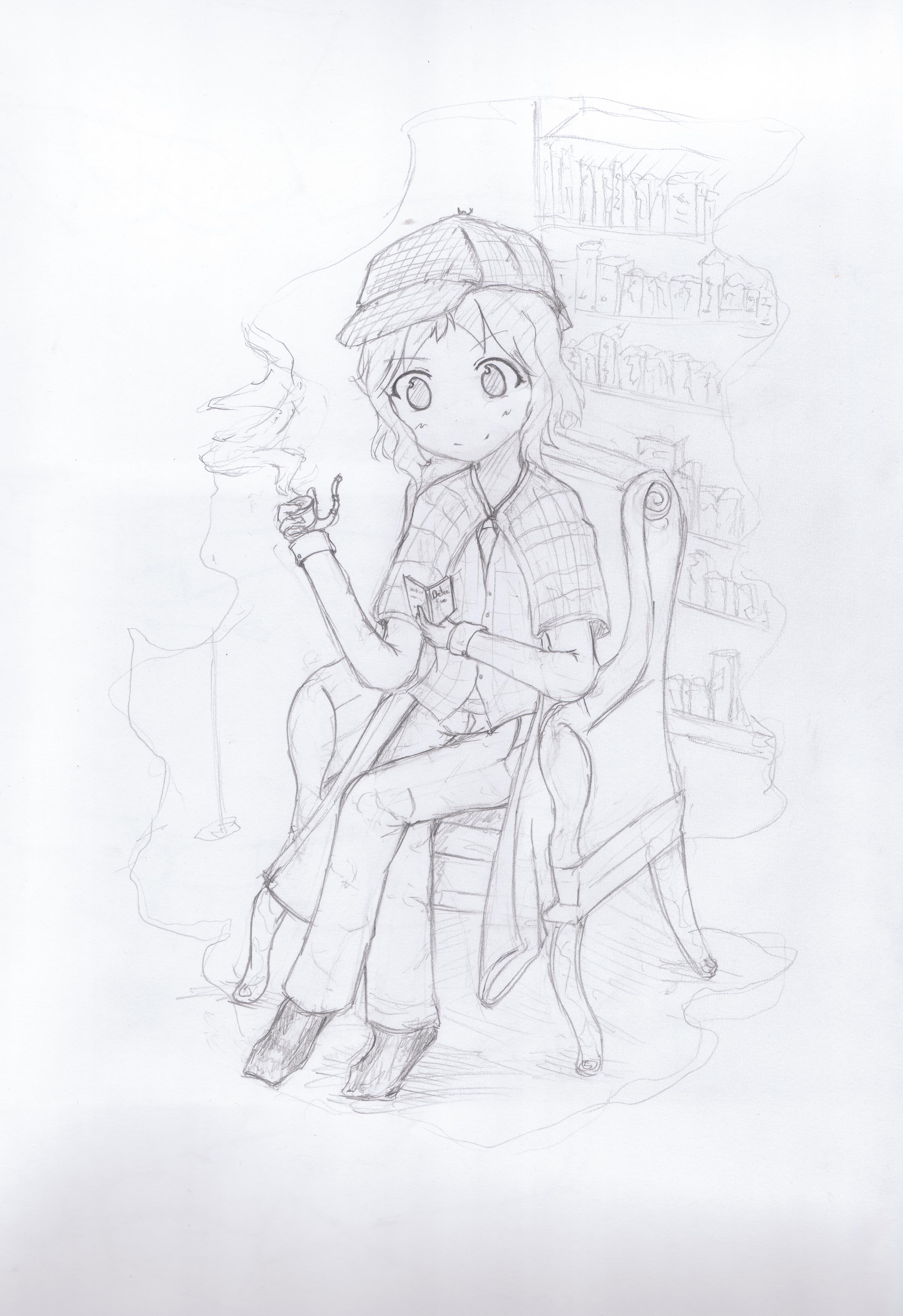 Sherlock Holmes by ShockolateZs